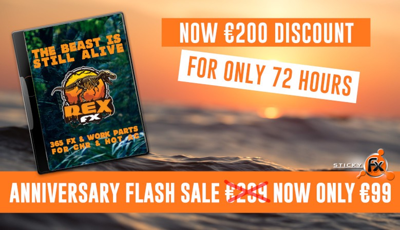 Anniversary Flash Sale: REX FX